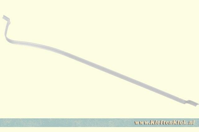 Schuifdeur ruit gordijnrail, westfalia 8/67-7/79