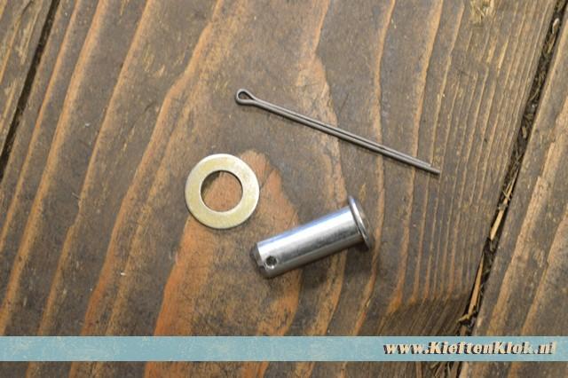 Remgaffel pen, hoofdremcilinder 3/50-7/79