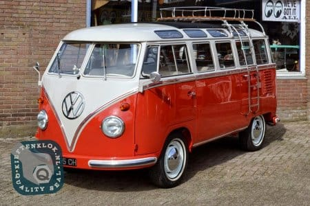 EXPORT MODEL 23 WINDOW SAMBA volkswagen